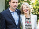 University of Pennsylvania President Amy Gutmann and her husband Michael Doyle.