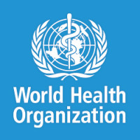 Logo for the World Health Organization