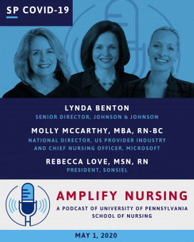 Special COVID-19 Episode: Lynda Benton, Molly McCarthy and Rebecca Love