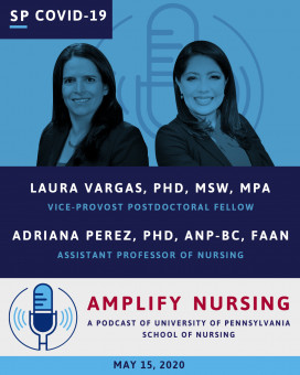 Amplify Nursing Dr. Laura Vargas and Dr. Adriana Perez