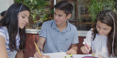 The Lanzando Líderes program has enrolled 24 Latino high-school students in partnership with the...