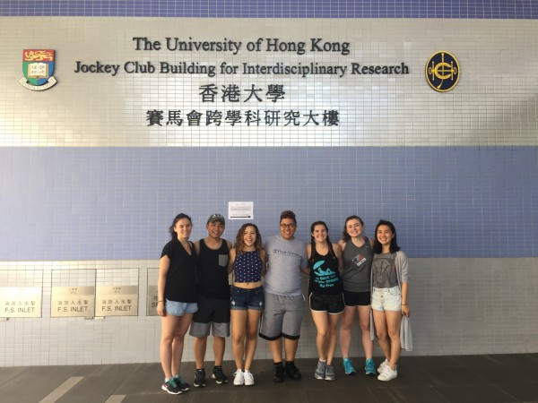 Penn Nursing Students Visit Hong Kong School of Public Health