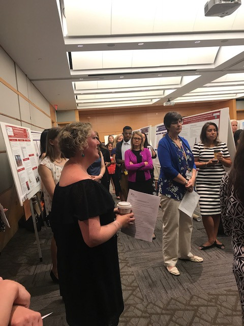 NP Students Present Posters at CHOP Poster Day