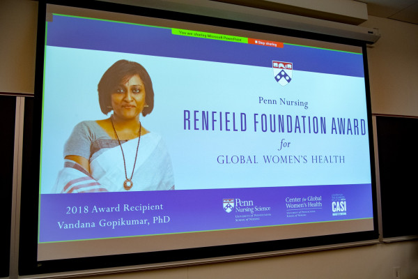 2018 Renfield Award