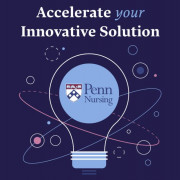 "innovation accelerator logo. Text: ""Accelerate your innovative solution"""