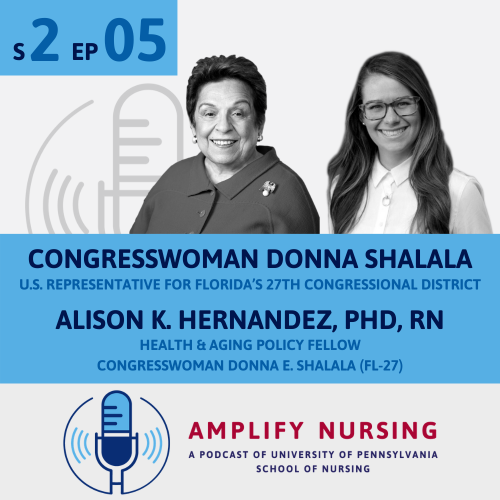 Donna Shalala and Alison Hernandez Graphic