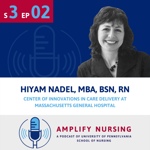 Image of Hiyam Nadel for Amplify Nursing.