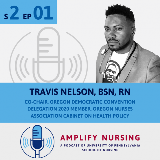 Travis Nelson Amplify Nursing graphic