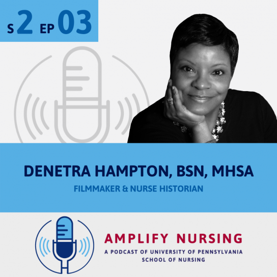 Denetra Hampton Amplify Nursing Graphic