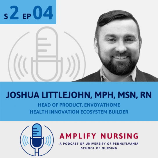 Joshua Littlejohn Amplify Nursing Graphic