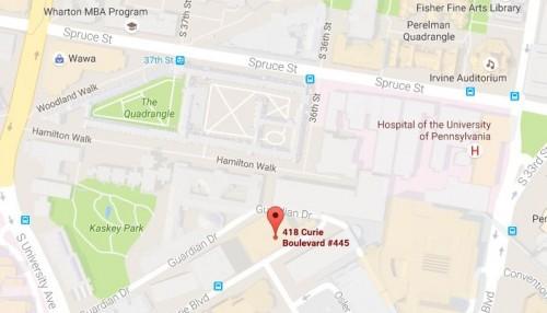 Contact Us Penn Nursing - Philadelphia university map