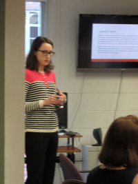 Jessica Smith, PhD, RN discusses her work at a recent CHOPR Seminar