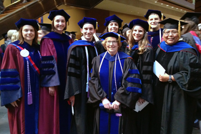 CHOPR Faculty attend Penn Nursing Graduation with most recent graduates of the Predoctoral Fellow...