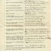 Student File, Application, Evelyn Barnum, Class of 1917, Frederick Douglass Memorial Hospital and Training School