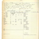 Student File, Transcript, Effie Bowman, Class of 1916, Frederick Douglass Memorial Hospital and Training School