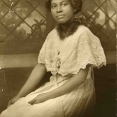 Student File, Student Photo, Mildred Lillian Ennis, Class of 1919, Frederick Douglass Memorial Hospital and Training School