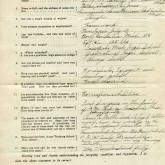 Student File, Application, Lovice Jones, Class of 1920, Frederick Douglass Memorial Hospital and Training School