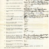 Student File, Application, Helen H. Reid, Class of 1918, Frederick Douglass Memorial Hospital and Training School