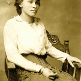 Student File, Student Photo, Lillian E. Welch, Class of 1917, Frederick Douglass Memorial Hospital and Training School