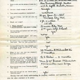 Student File, Application, Mabel Williams, Class of 1917, Frederick Douglass Memorial Hospital and Training School