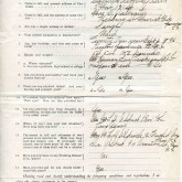 Student File, Application, Camilla Alberta Grant, Class of 1921, Frederick Douglass Memorial Hospital and Training School