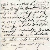 Student File, Letter of Support, Inez May Hoyt, Class of 1921, Frederick Douglass Memorial Hospital and Training School