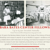 2021 Barbara Bates Center Fellowship Announcement