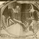 Visiting Nurse Society of Philadelphia scrapbook of newspaper clippings related to the society be...