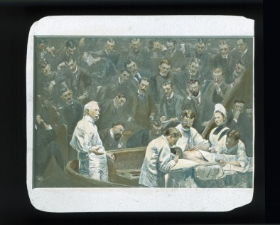 <em>The Agnew Clinic (1889)</em> by Thomas Eakins.