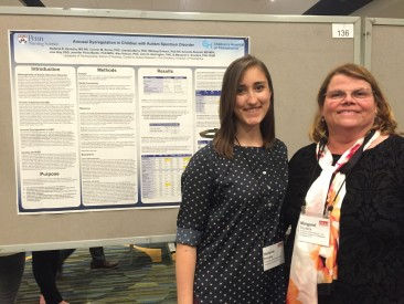 DSO helped fund Stefanie Zavodny to attend and present at the International Meeting for Autism Research in San Francisco, May 2017
