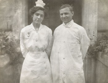 Nurse and physician, Philadelphia General Hospital, Philadelphia, PA, c. 1925