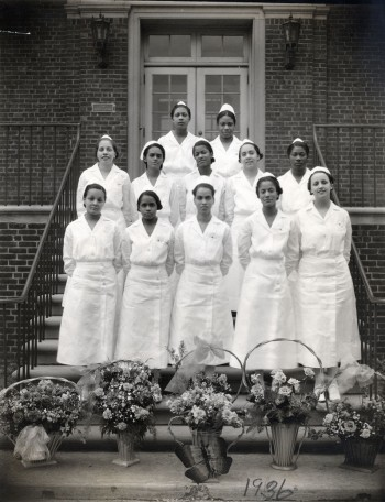 Mercy Hospital School of Nursing class of 1936