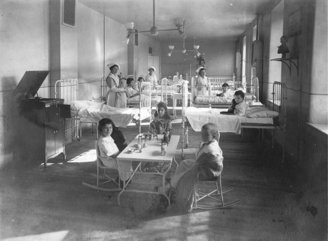 Late-Nineteenth and Early-Century Pediatrics • Nursing